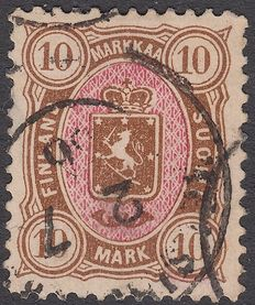 Finland 1885 - National Coat of Arms - Michel 26