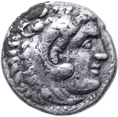 Greek Antiquity - Alexander III 'the Great' AR Drachm. Magnesia ad Meandrum, ca. 319-305 BC