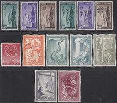 Europa Stamps 1949/1951 - Various issues CEPT forerunners
