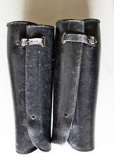 Leather gaiters - The Netherlands