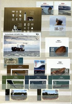 Iceland 1960/2014 - Collection complete with stamp booklets in a stock book
