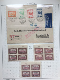 Hungary 1920/1950 - Specialised collection on album pages