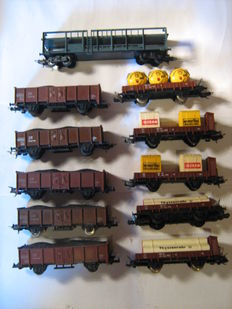 Lima H0 - 11 various freight cars
