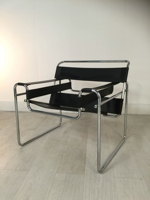 marcel breuer wassily fauteuil replica catawiki. Black Bedroom Furniture Sets. Home Design Ideas