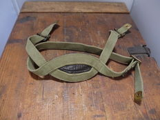Beautiful complete chin strap, for British Parahelmet 1939-1943
