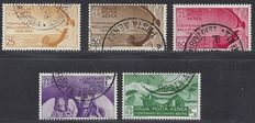 Italy 1935 - Bellini Airmail stamps  - Sassone A90/94