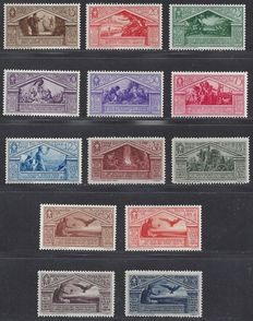 Italy 1930 - Set Virgilio - Sassone 282/290 and A21/A24