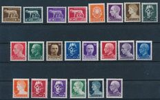 Italy 1923/1934 - Small collection 7 complete sets on stock cards