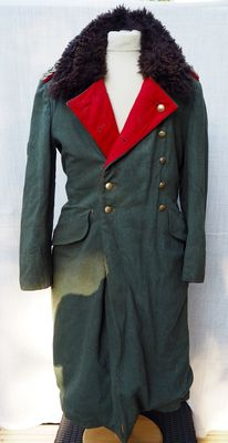 Wehrmacht general coat, winter version (presumably eastern front)