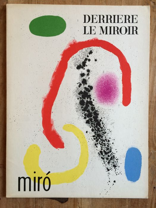 Joan mir derri re le miroir 125 126 complete with all for Miro derriere le miroir