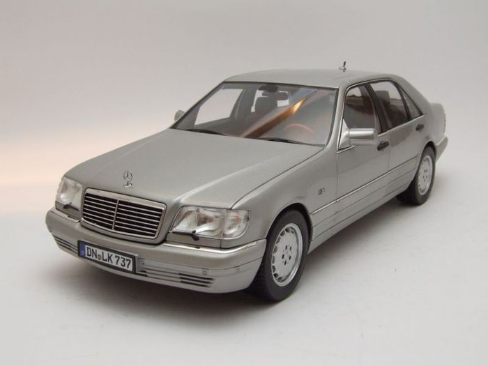 Norev scale 1 18 mercedes benz s600 1997 catawiki for 1997 mercedes benz s600