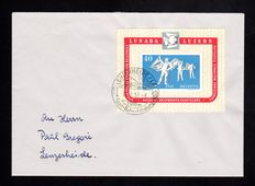 Switzerland - Compilation of 14 Covers, FDCs and Air Mail, including Michel Blocks 12, 13 ,14, 15