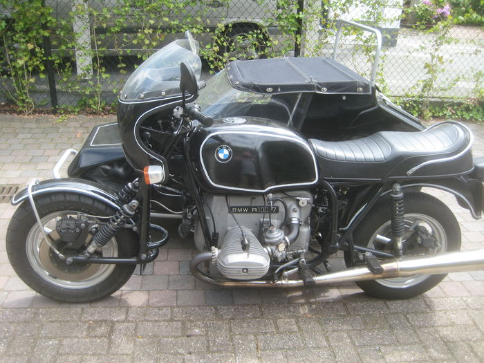 bmw r100 7 with classic ezs tp 049 sidecar 1977 catawiki. Black Bedroom Furniture Sets. Home Design Ideas