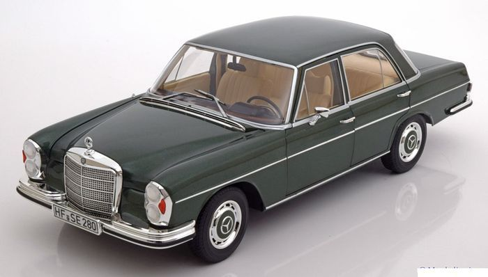 Norev scale 1 18 1968 mercedes benz 280 se w108 pine for Mercedes benz pines