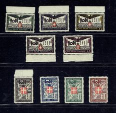 Italy 1922/1937 - Selection of colonial stamps