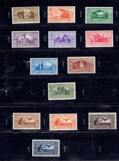 Italy 1930 - Serie Virgilio, Airmail and specimen stamps, including IEC 278/286 and S 278/286
