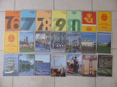 Denmark 1976/1999 - Collection 21 official year sets