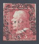 Check out our Sicily 1859 - Ferdinando II 5g red - With France Cancel 1896 Sassone 9 with certificate