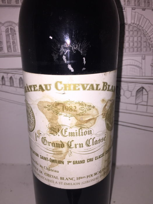 1982 Chateau Cheval Blanc, Saint-Emilion Grand Cru