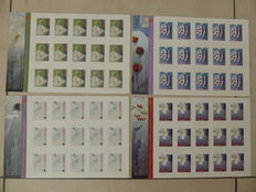 Norway 2006/2010 - Selection 11 booklets and 4 sheetlets