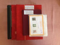 Italia - Collection in  Stock albums books and sheets