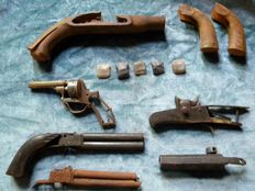 Antique parts for restorations of antique weapons no. 3