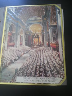 Vatican and Italy - Batch of letters, special issues and sheetlets in home-made album