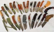 Batch of pocket knives - 25 pieces - various types