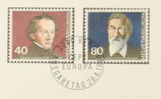 Switzerland 1957/1984 - Batch of 'Sondermarken' in special folders and some covers