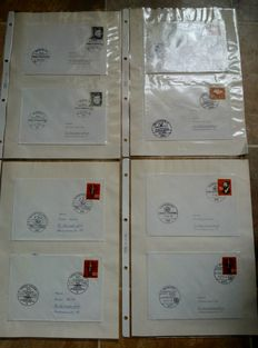 World - Collection of 900 commemorative envelopes and postal items