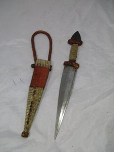 Touareg dagger/hunting knife - North Africa, first half of the 20th century