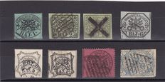 Papal States 1852/1868 - Small collection
