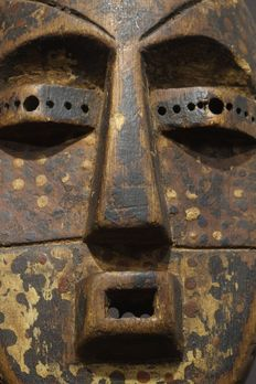 Fine Ituri mask- NDAKA tribe-Democratic Republic of the Congo