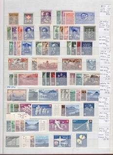 Switzerland 1914/2000 - Collection with Automat Stamps and Offices