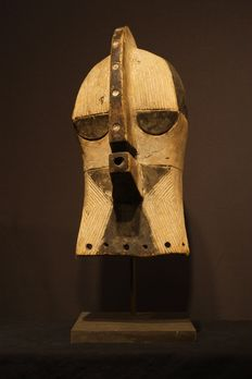 KIFWEBE mask - Democratic Republic Congo- from the Nicolas De Kun collection