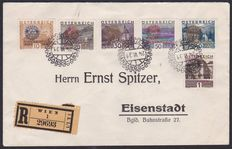 Austria 1931 - Rotary Congress with Imprint on Reco Letter to Eisenstadt