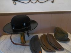Lot with military head gear