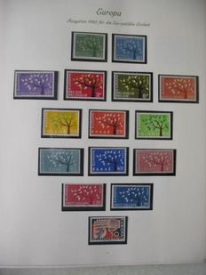 Europa Stamps 1962/1973 - CEPT Collection