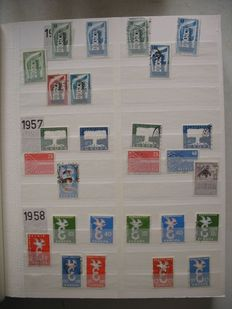 Europa Stamps - CEPT Collection from 1956 in Stock Book