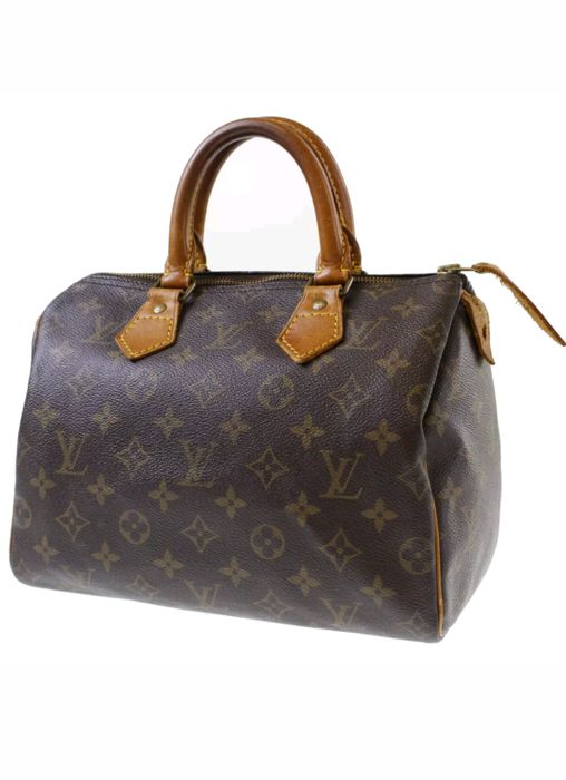 louis vuitton speedy 25 handtasche catawiki. Black Bedroom Furniture Sets. Home Design Ideas