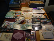 World - Batch from classic in stock books, bags, etc.