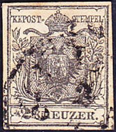 Austria 1850/1880 - Specialized Collection of ANK 1 - 49 with Lombardy-Veneto and Levant + Tax Stamps