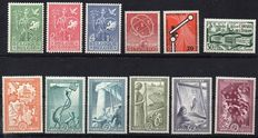 Europa stamps 1952/1954 - Small collection of Forerunners and NATO issues