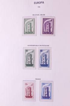 Europa Stamps 1956/1982 - Collection CEPT in Davo album