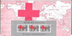 Red Cross - Topical collection + batch Netherlands