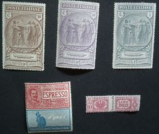 Italy and Libya 1923/1925 - Small collection