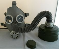 Gasmasks from the East block