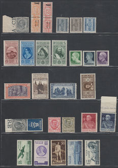Italy - A small collection on Stock Pages