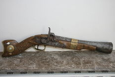 Percussion Blunderbuss - Tunesia - early 19th century