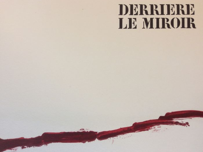 T pies derriere le miroir n 180 deluxe edition 1969 for Derriere le miroir